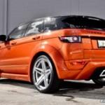 Остаточний Auto представляє тюнинг Везувій Orange Range Rover Evoque