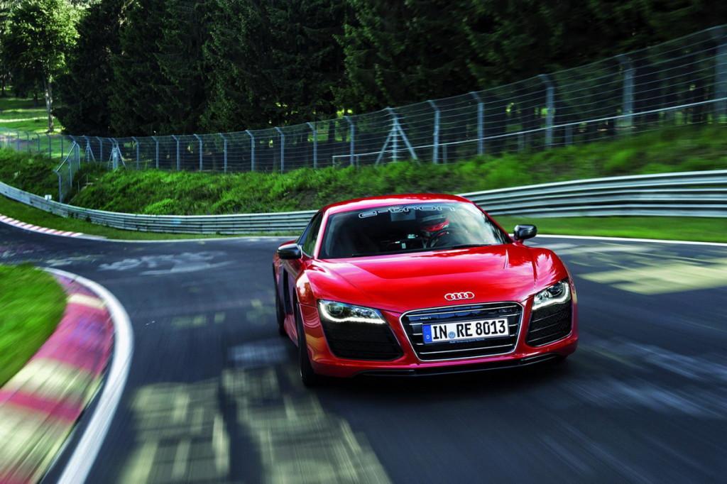 Audi R8 e-tron встановив рекорд Нюрбургрінга серед серійних електрокарів